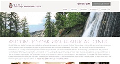 Preview of oakridgehealthcare.net